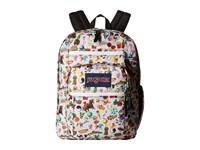 Jansport Big Student Multi Stickers Backpack Bags