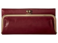 Hobo Rachel Red Plum Clutch Handbags