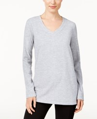 Styleandco. Style Co. Space Dyed Sweatshirt Only At Macy's New Titanium