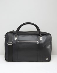 Fred Perry Pique Holdall Black