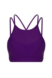 Lorna Jane Ambition Sports Bra Purple