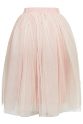 Layered Tutu Midi Skirt By Rare Dusty Pink