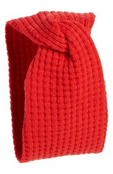 Echo 'Twisted' Head Wrap Red Madder Red Heather