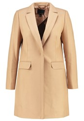 Banana Republic Melton Classic Coat Camel Beige