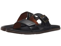 Olukai Kapua Slide Black Black Men's Sandals