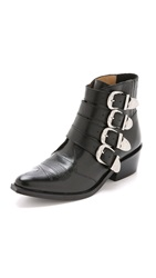 Toga Pulla Buckled Booties Black