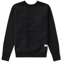 Bedwin And The Heartbreakers Lou Crew Sweat Black