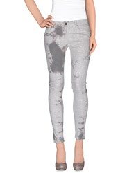 Cimarron Trousers Casual Trousers Women Light Grey