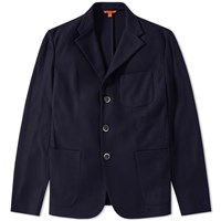 Barena Torceo Patch Pocket Blazer Blue