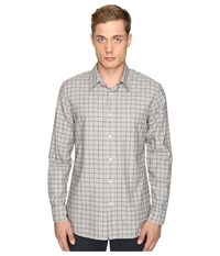 Billy Reid Tuscumbia Shirt Grey Brown