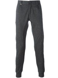 Paolo Pecora Gathered Ankle Trousers Grey