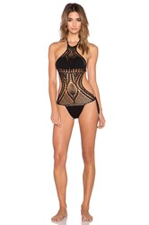 Lisa Maree Instant Success Crochet One Piece Black