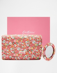 Cath Kidston Padded Lurex Folded Cosmetic Case Mewsditsy