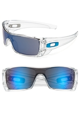 Oakley 'Batwolf' Sunglasses Clear