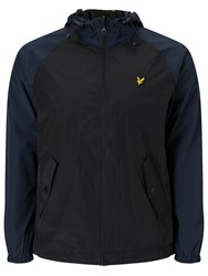 Lyle And Scott Hooded Anorak True Black