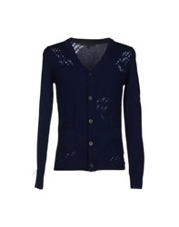 Karl By Karl Lagerfeld Knitwear Cardigans Men Dark Blue