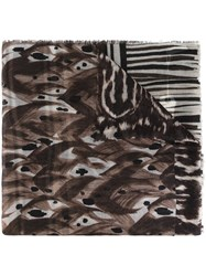Pierre Louis Mascia 'Notevole' Scarf Black
