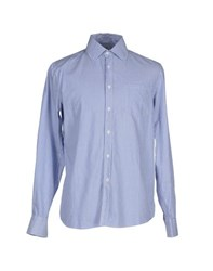 Geox Shirts Shirts Men Blue