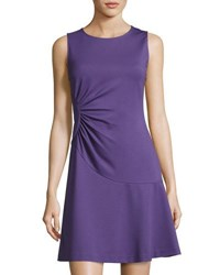 Diane Von Furstenberg Dayna Sleeveless A Line Dress Lilac