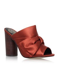 Kg By Kurt Geiger Jessie Mules Female Rust