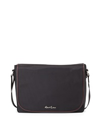 Robert Graham Racer Flap Top Messenger Bag Black