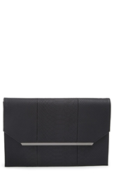 Bcbgmaxazria 'Kelly' Envelope Clutch Black