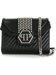 Philipp Plein 'Cemetary' Crossbody Bag Black