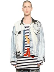 Faith Connexion Painted Cotton Denim Jacket