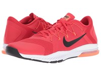 Nike Zoom Train Complete Action Red Black Total Crimson White Men's Cross Training Shoes Pink
