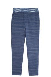 Missoni Space Dye Track Trousers Navy