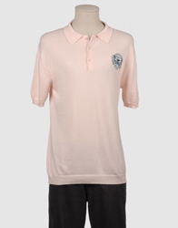 Lifer Brand Criminal Polo Sweaters Light Pink