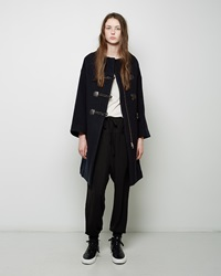 Tsumori Chisato Wool Toggle Coat Black
