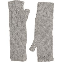 Eugenia Kim Women's Joelle Fingerless Gloves Light Grey