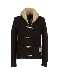 Scotch And Soda Cardigans Dark Brown