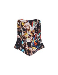 Mary Katrantzou Topwear Tube Tops Women Black