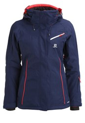 Salomon Fantasy Ski Jacket Wisteria Navy Dark Purple