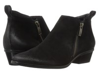 Paul Green Jillian Bootie Black Suede Women's Boots