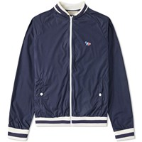 Maison Kitsune Windbreaker Blue