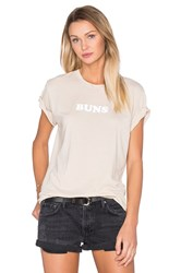 The Laundry Room Buns Rolling Tee Beige