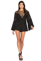 Alice Mccall Formation Playsuit Black