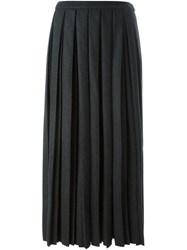 Golden Goose Deluxe Brand Pleated Skirt Grey