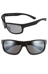 Men's Revo 'Baseliner' 61Mm Polarized Sunglasses Matte Black Graphite