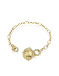 Torrini Ball 18K Gold And Diamond Charm Bracelet