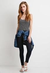 Forever 21 Low Rise Skinny Jeans Indigo