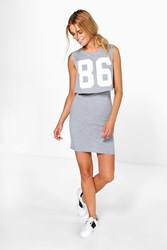 Josie Baseball Double Layer Dress