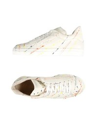George J. Love Footwear Low Tops And Trainers Women Ivory