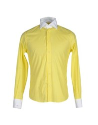 Massimo Rebecchi Shirts Shirts Men Yellow