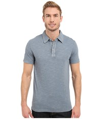 Mod O Doc Zuma Short Sleeve Polo Castlerock Men's Clothing Gray