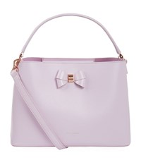 Ted Baker Alexxa Bow Detail Medium Tote Female Lilac