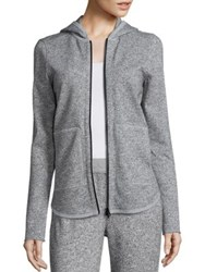 Atm Anthony Thomas Melillo Sparkle Hoodie Sparkle Grey